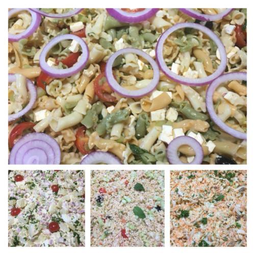 Salades d'été.