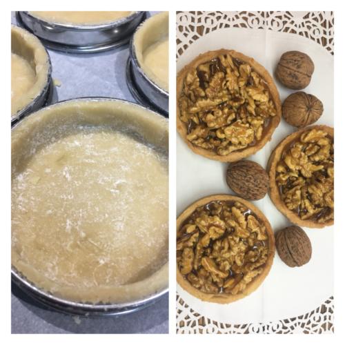 Tartelettes aux noix.