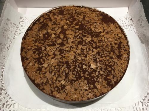 Gâteau chocolat et Poires.