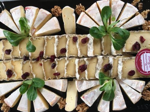 Plateau de fromages de nos montagnes.