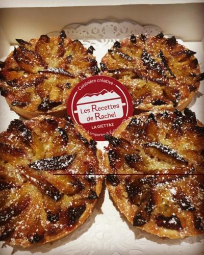 Tartelettes aux prunes de La Giettaz.